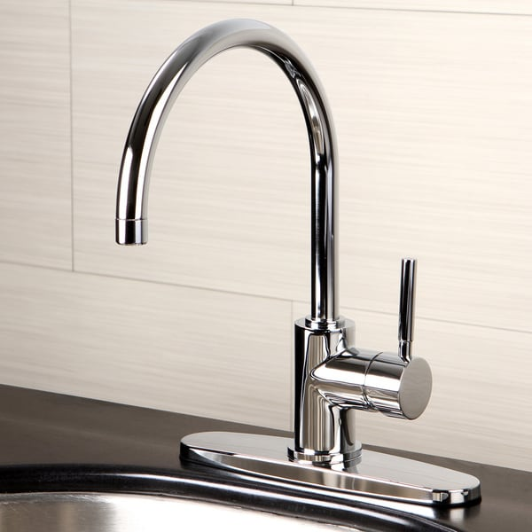 Triple Sink Faucet : Concord Triple-Plated Chrome Kitchen Faucet - Free Shipping Today ...