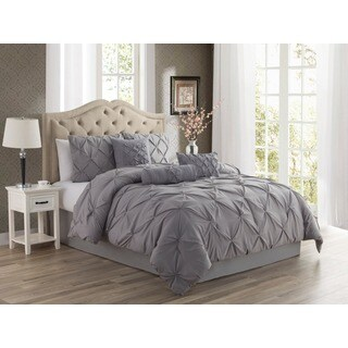 Copper Grove Tithonia 3-piece Pintuck Comforter Set