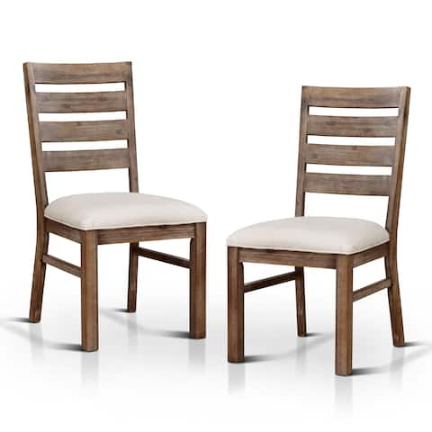 """The Gray Barn Pork Storks Natural Tone Dining Chair (Set of 2) - 24""""W X 19 1/4""""D X 38 1/4"""""""