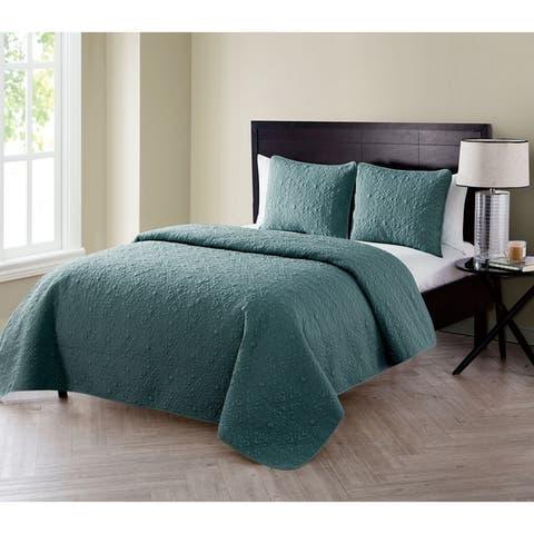 The Gray Barn Rock Creek 3-piece Embossed Quilt Set