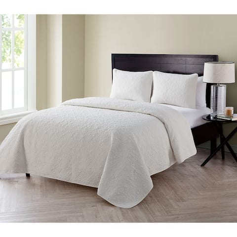 The Gray Barn Rock Creek 3-piece Embossed Quilt Set