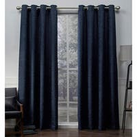 The Gray Barn Flitner Chenille Room Darkening Curtain Panel Pair