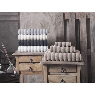 Strick & Bolton Hines 100-percent Turkish Micro Cotton Hand Towels 4-piece Set - 16x28 inches