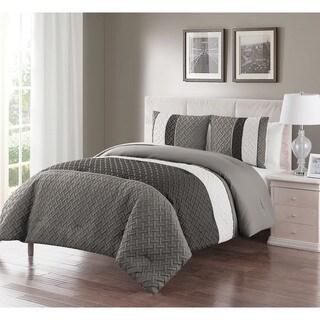 Carbon Loft Lawrence Embossed 3-piece Comforter Set