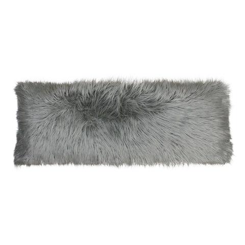 20x54 Keller Faux Mongolian Body Pillow
