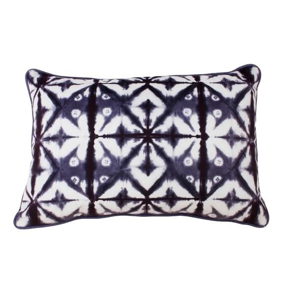 18x12 Sadie Shibori Printed Pillow