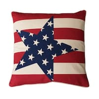 20x20 Andrew Stars and Stripes Pillow