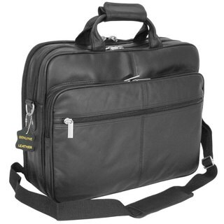 Amerileather Black Leather Softside Briefcase|https://ak1.ostkcdn.com/images/products/20011/P904730.jpg?_ostk_perf_=percv&impolicy=medium
