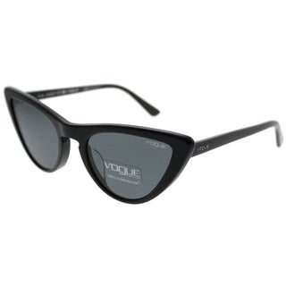 Vogue Cat-Eye VO 5211SF Vogue By Gigi Hadid Asian Fit W44/87 Women Black Frame Grey Lens Sunglasses