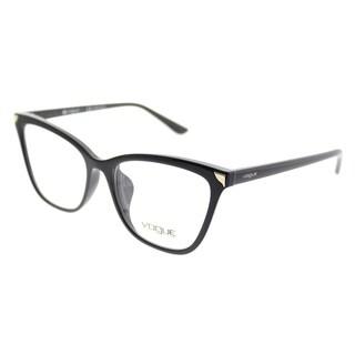 Vogue Cat-Eye VO 5206F Asian Fit W44 Women Black Frame Eyeglasses