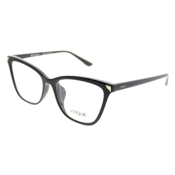 26989fb37b6 Vogue Cat-Eye VO 5206F Asian Fit W44 Women Black Frame Eyeglasses
