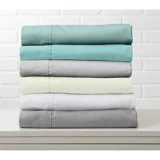 Luxury Ultra Soft Rayon from Bamboo Blend Sheet Set by Great Bay Home
