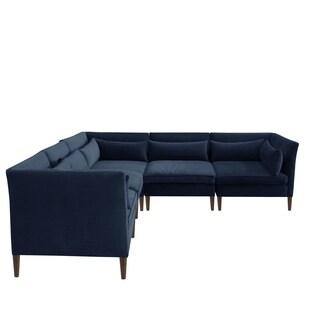 Skyline Furniture Sectional in Velvet