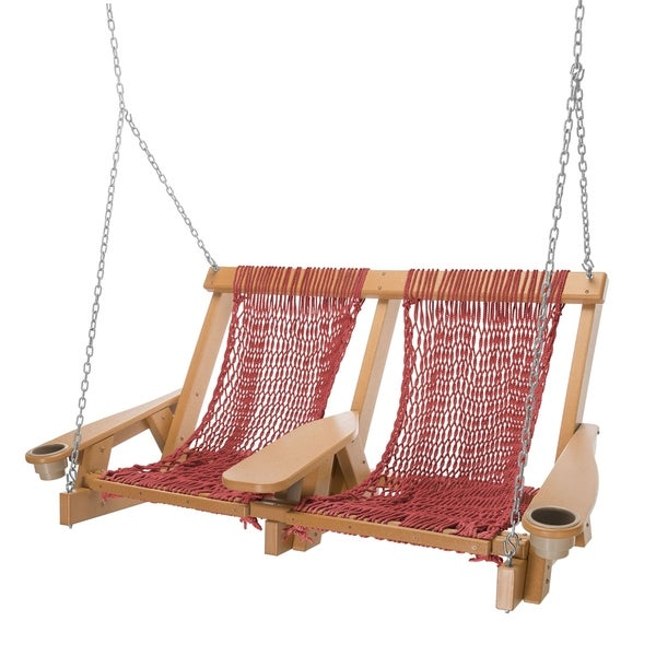 Coastal Rope Double Swing