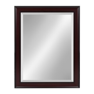 Scoop Framed Beveled Wall Mirror
