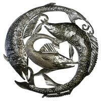 Handmade Swordfish Metal Wall Art (Haiti)