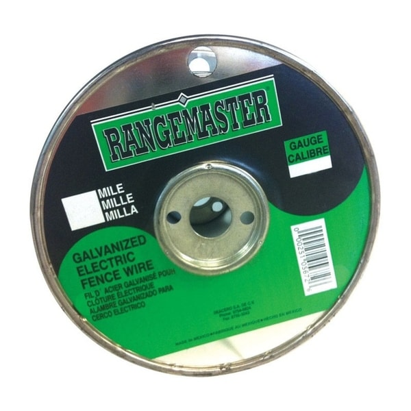 Rangemaster Rangemaster Steel Electric Fence Wire 2640 ft. L