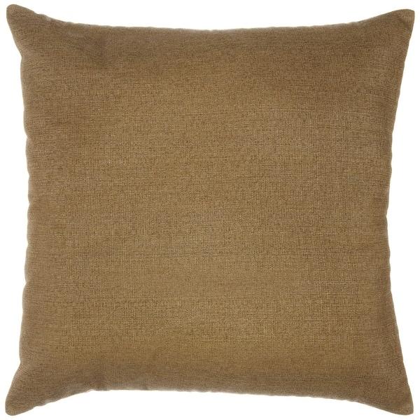 Sunbrella Throw Pillow   Linen Sesame