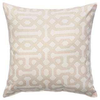 Sunbrella Throw Pillow - Fretwork Flax