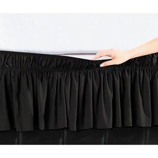 De Moocci Easy Wrap Platform-Free 16-inch Drop Bed Skirt (2 options available)
