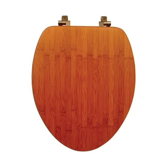 Astonishing Mayfair Bamboo Toilet Seat Elongated Dark Bamboo Ocoug Best Dining Table And Chair Ideas Images Ocougorg