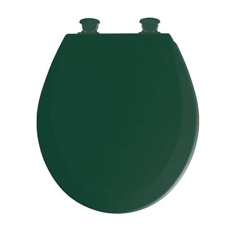 Mayfair Wood Toilet Seat Round Rain Forest