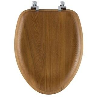 Bemis Wood Toilet Seat Elongated Oak