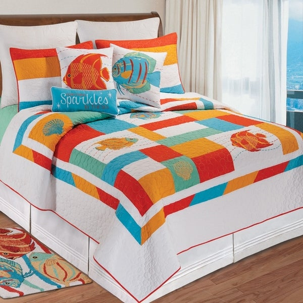 South Seas Quilt Shams Available Separately