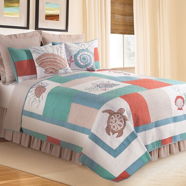 Folly Beach Quilt (Shams Available Separately)