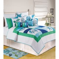 Meridian Waters Quilt (Shams Available Separately)
