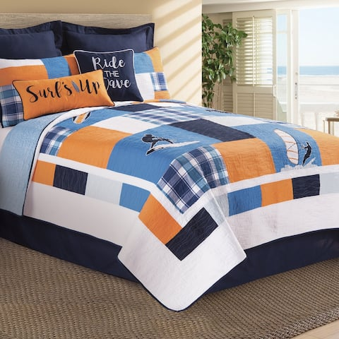 Surfer's Cove Quilt (Shams Available Separately)