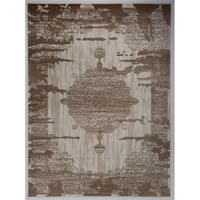 """Antep Rugs Zeugma Collection 288 Vintage Area Rug Brown 7'10"""" X 10' - 7'10"""" x 10'"""