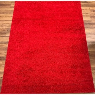 Antep Rugs Star Gy Collection Sts2 Cozy Red Solid Area Rug 8 X