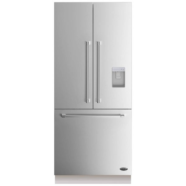 36 Inch Built In Panel Ready French Door Refrigerator Free