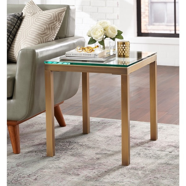 Shop Simple Living Manhattan End Table Free Shipping Today