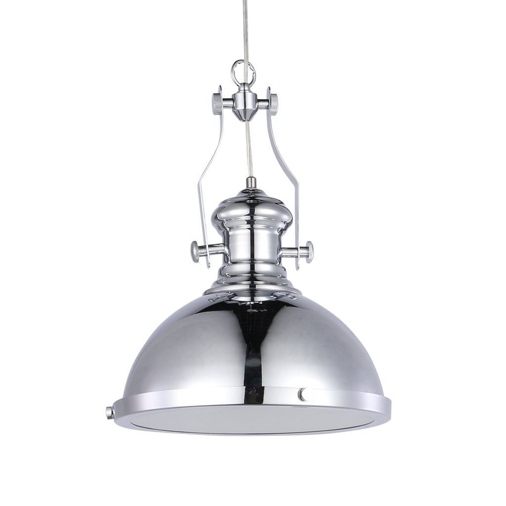 Shop Black Friday Deals On Celone 1 Light Chrome 13 Inch Pendant Lamp On Sale Overstock 20018477