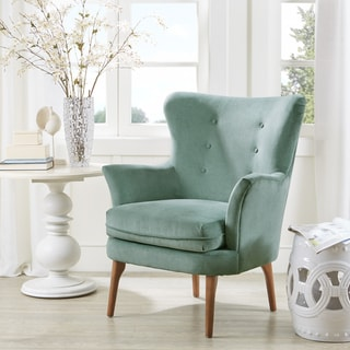 Link to Madison Park Ellie Seafoam Accent Chair Similar Items in Living Room Chairs