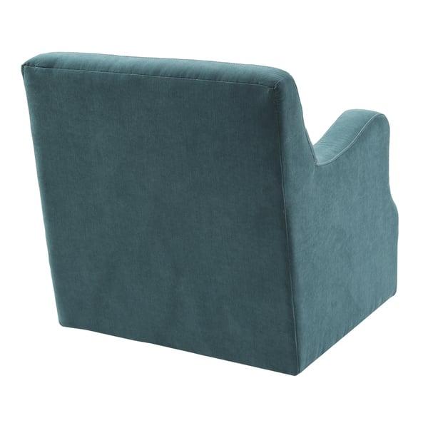 Awe Inspiring Shop Madison Park Tona Blue Swivel Chair Free Shipping Machost Co Dining Chair Design Ideas Machostcouk