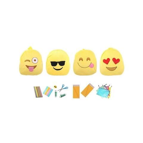 Emoji Backpacks with Back to School Essentials