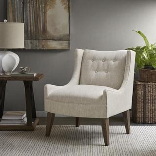 Madison Park Leigh Cream Accent Chair