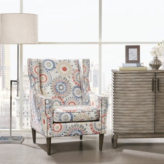 Madison Park Topeka Red Accent Chair