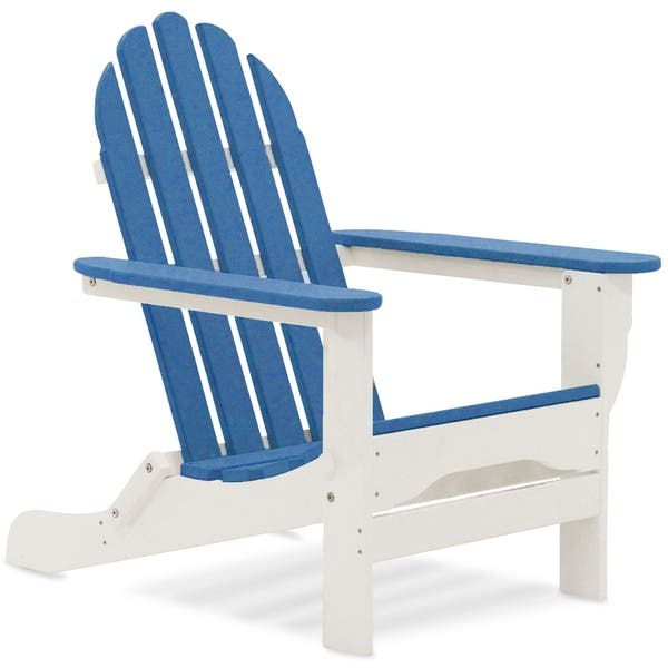 Sensational Shop Wyndtree Recycled Plastic Folding Adirondack Chair Pdpeps Interior Chair Design Pdpepsorg