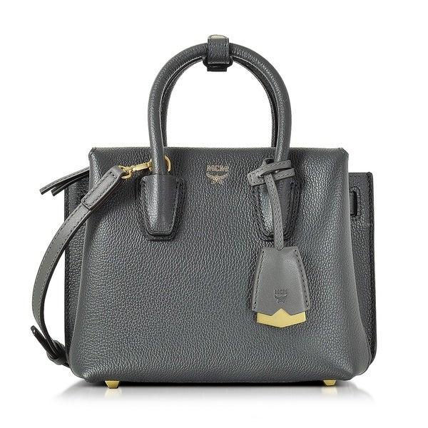 Shop MCM Milla Mini Phantom Grey Tote Bag - Free Shipping Today ... c3df1dcf4599c