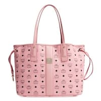 MCM Liz Reversible Medium Pink Tote Bag