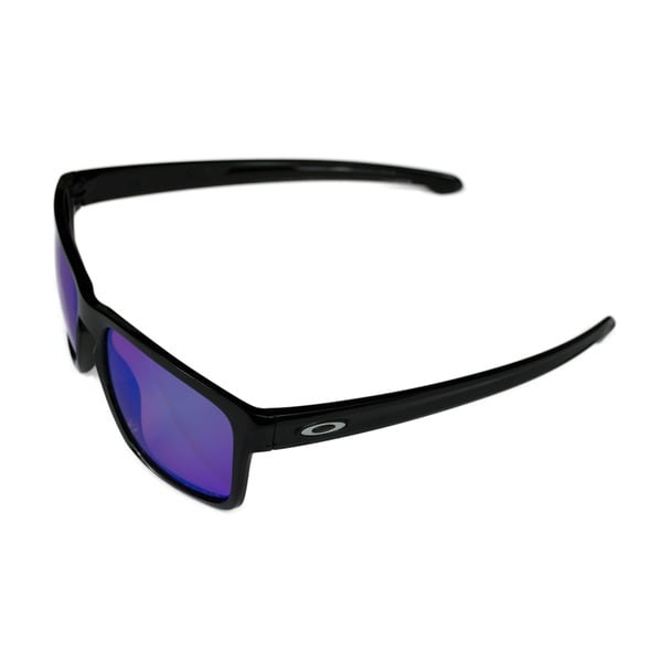 fb4b82e008e Oakley Sport Mens Sliver Polished Black w  Prizm Golf Amber Lens Sunglasses