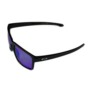 Oakley Sport Mens Sliver Polished Black w/ Prizm Golf Amber Lens Sunglasses