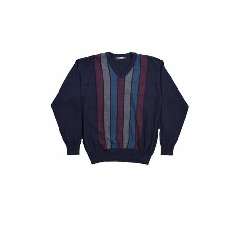 San Remo Men's V-Neck Sweater - Size L