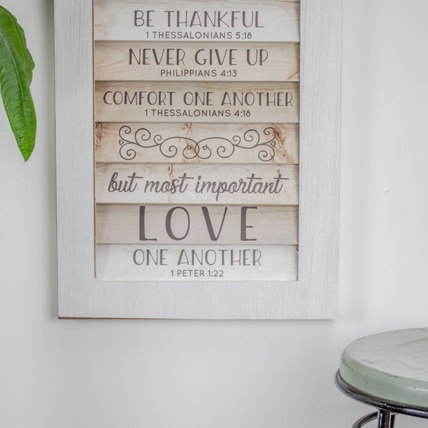shop american art decor bible quotes to live by in our home