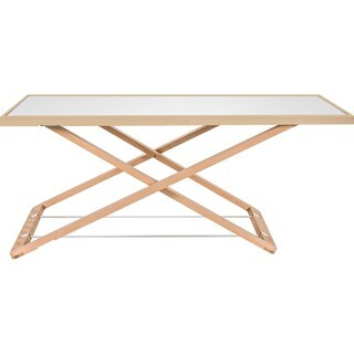 "Lorell Ultra-slim Desk Riser - 17"" Height x 32"" Width x 22"" Depth - Desktop - White, Natural"