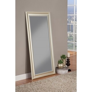 Sandberg Furniture Brushed Bronze Full Length Leaner Mirror